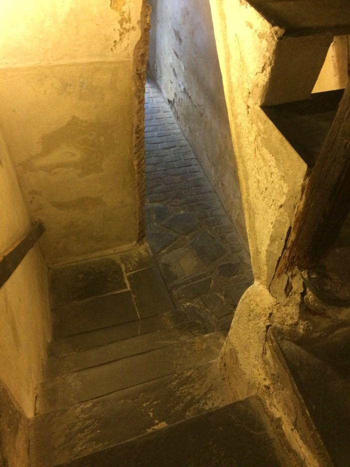 Subindo as escadas