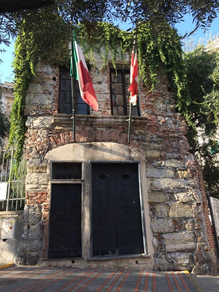 Casa de Cristóvão Colombo em Gênova