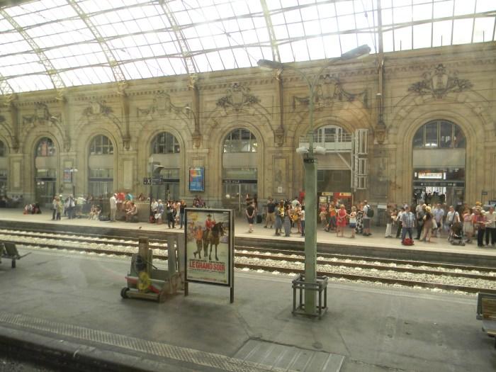 Nice Ville, a estação de Nice