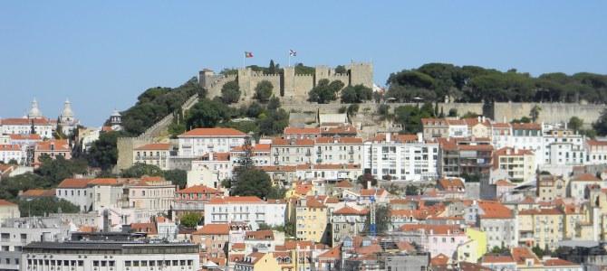 Visitando o Castelo de São Jorge em Lisboa
