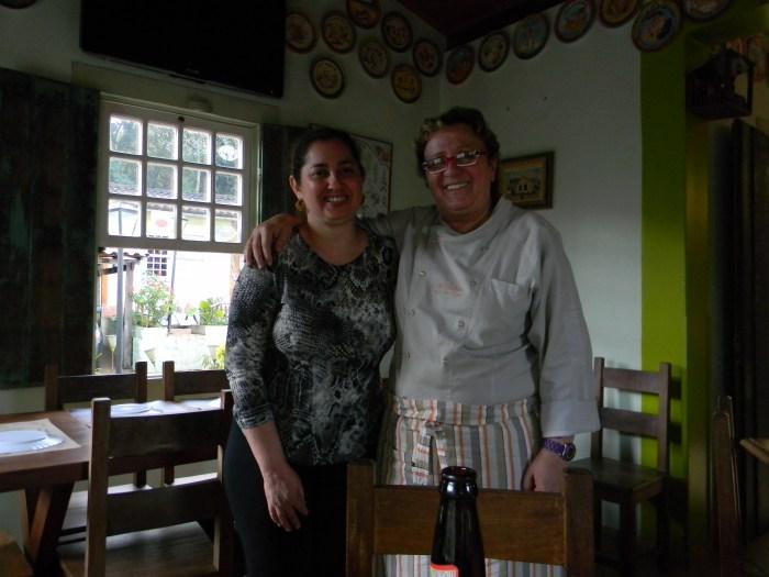 E o abraço da Chef Beth Beltrão