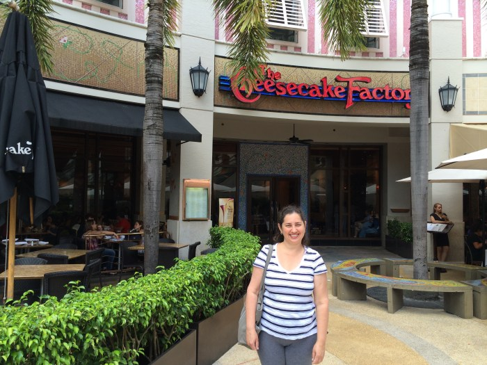 Cheesecake Factory em Miamy
