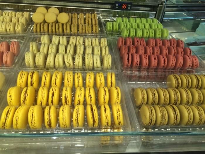 e os coloridos Macarons, ulalááá
