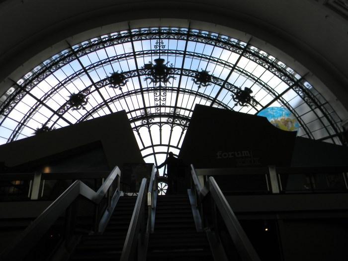 Grande vitral do Museu
