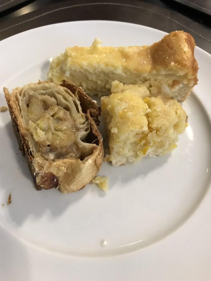 Torta doce e Apfelstrudel, que tentação!