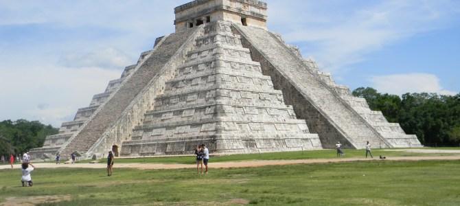 Minha visita à Chichén Itzá, México