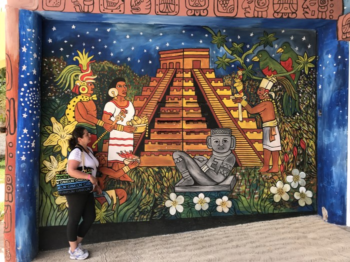 Minha visita à Chichén Itzá