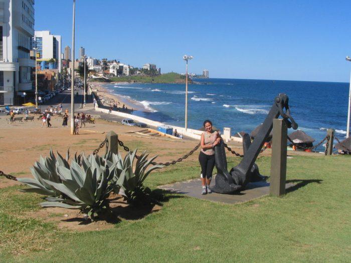 Um lindo dia ensolarado na Bahia