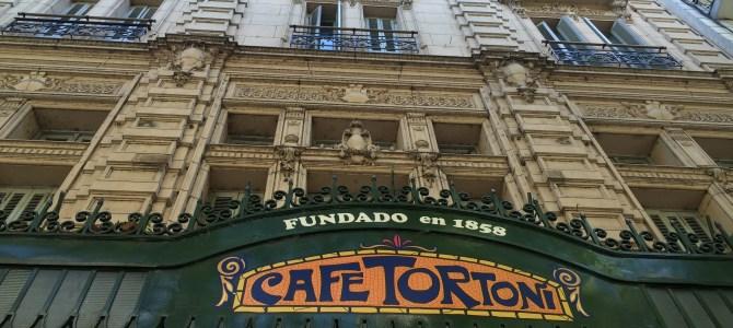 Gran Café Tortoni, puro charme em Buenos Aires