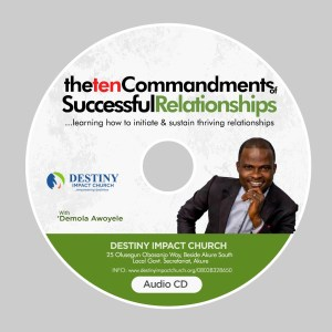 The 10 Commandments of Successful Relatioships