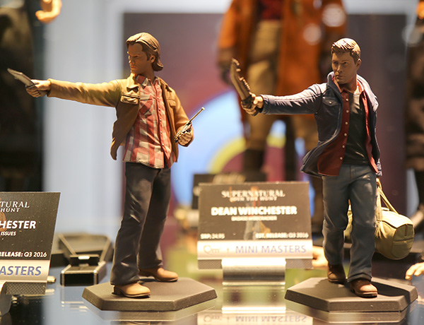 Sam and Dean Winchester Supernatural figures