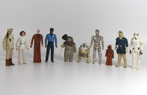 Well Loved Vintage Star Wars Figure Lot