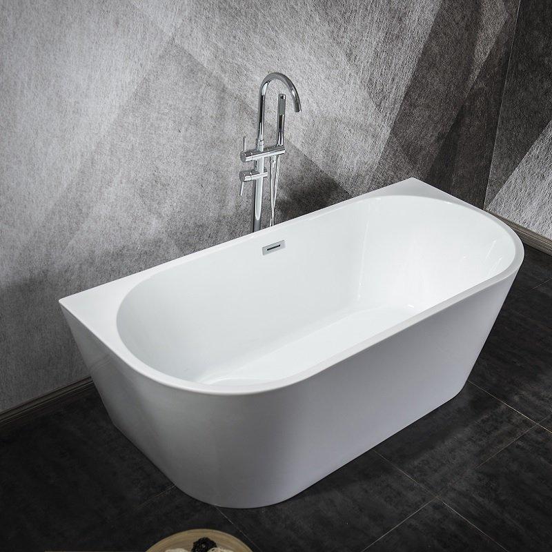 baignoire ilot oslo pour une salle de bain mansardee 170 cm