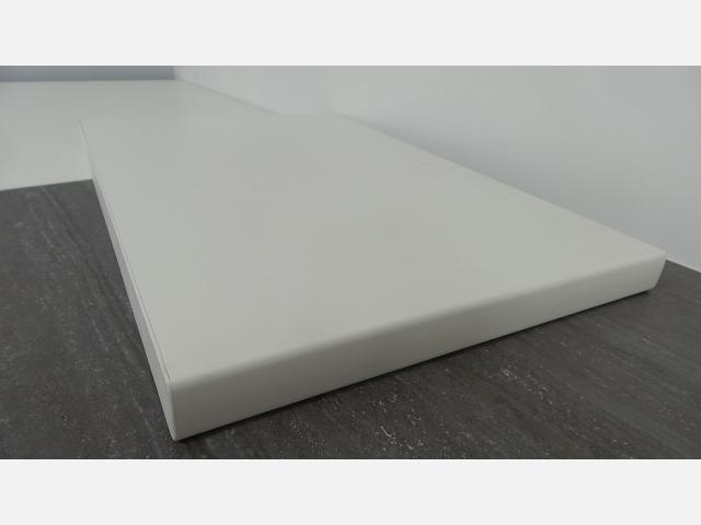 b40 plan de travail blanc stratifie epaisseur 38 mm largeur 40 cm cuisine meubles destock occaz