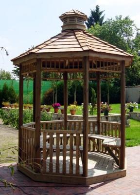 Aménagez votre kiosque de jardin en bois | Vente d\'Abris ...