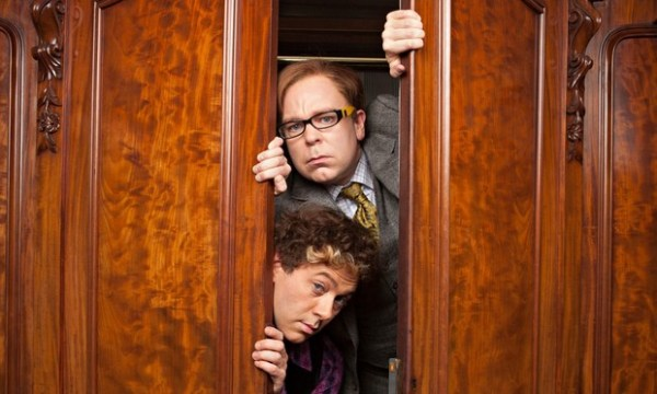 Reece Shearsmith, left, and Steve Pemberton in the opening episode of Inside No 9.
