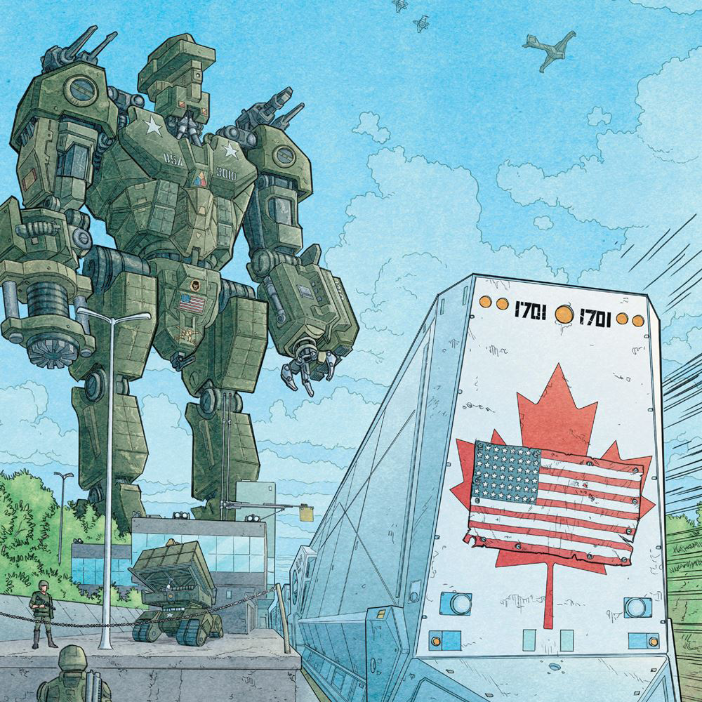 We Stand on Guard Quick Review: A Pretty Mechwarrior Canada Lacking Depth