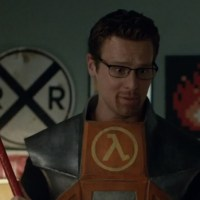So, HBO's Looking debates whether or not Gordon Freeman is a character or construct...