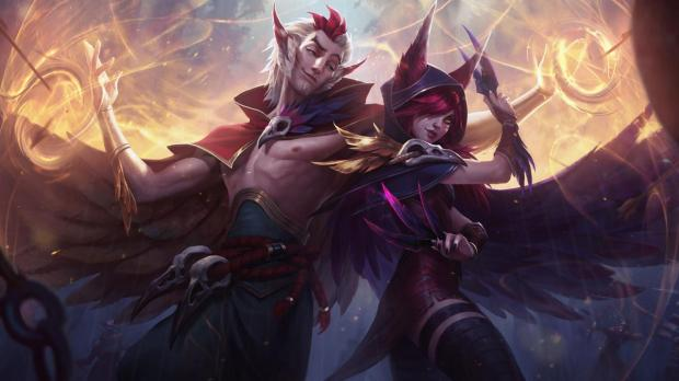 432203-AAF24 League of Legends' Xayah and Rakan are an unconventional duo iOs