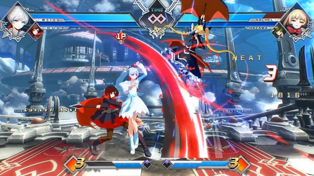 BlazBlue: Cross Tag Battle will feature a simplified control system option screenshot