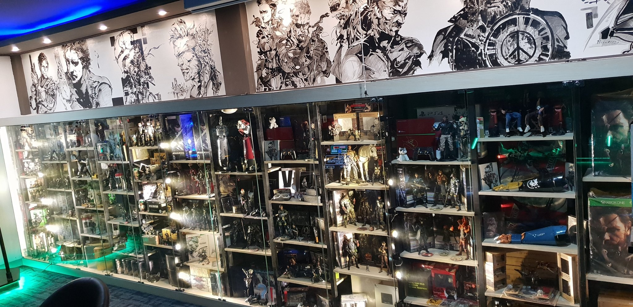 You have to see this amazing Metal Gear Solid collection This guy s Metal Gear Solid collection is incredible  PC Gamer