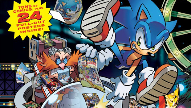 New Sonic Comic Collection Explains Why He Has Green Eyes