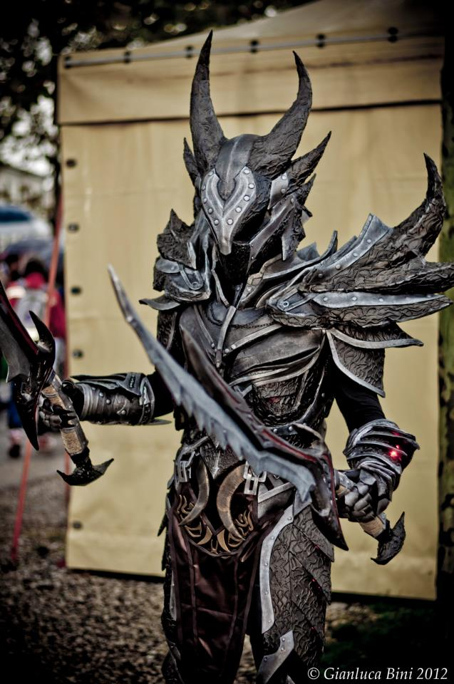 Feast Your Eyes On This Amazingly Detailed Skyrim Armor