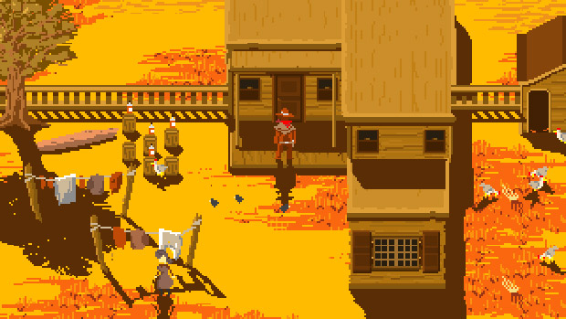 Become A Cowboy Detective In Browser Game Westerado