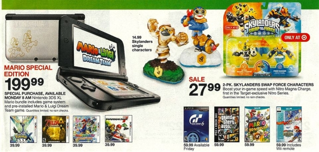 Looks Like Theres A Mario And Luigi 3DS XL Bundle Coming