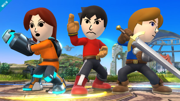 Miis And NFC Toys Confirmed For Super Smash Bros Out In October