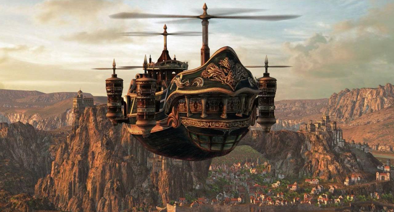 Final Fantasy XV Airships Might Not Make Launch Just Cause 3 Dev Helping