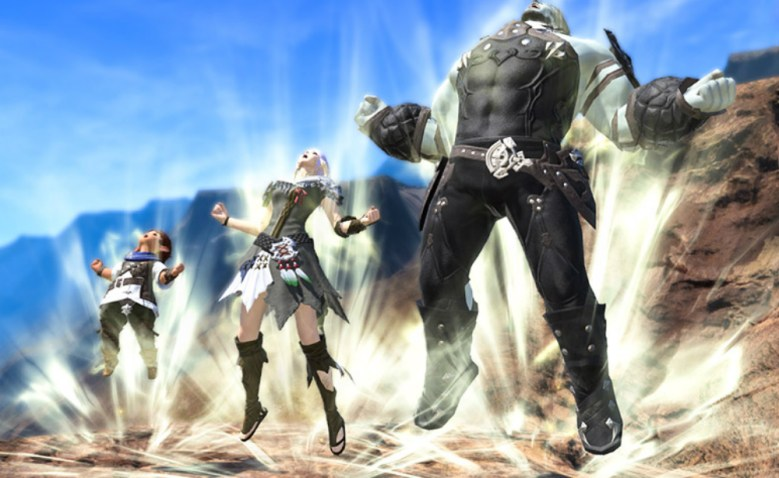 Final Fantasy XIV now has a Dragon Ball style power-up emote | PerezStart