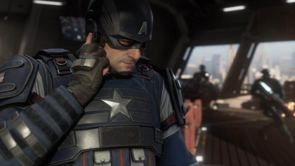 Los vengadores de Marvel Capitán América