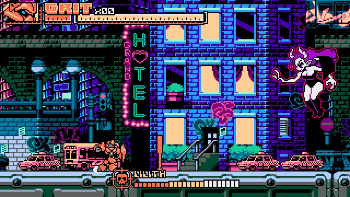 Review Panzer Paladin-Retro game with very hard gameplay
