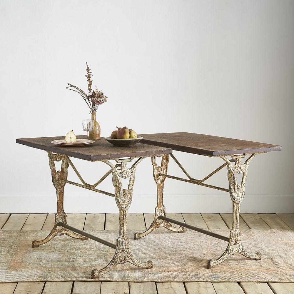 bistro table alone or by pairs