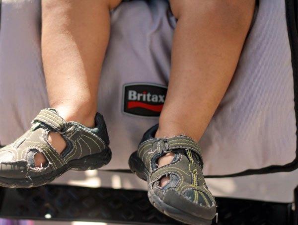 Britax B-Nimble Stroller, Britax B-Nimble, Britax Promotions, Britax USA, african american baby, biracial baby, stroller reviews