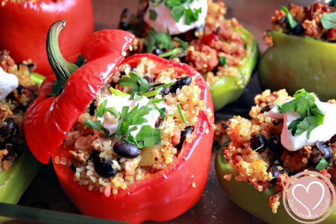 how to cook stuffed bell pepper recipes