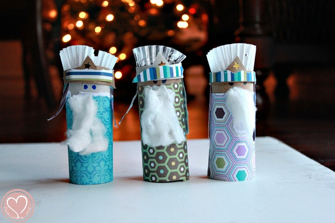 toilet roll craft, 3 kings craft, celebrating dia de los reyes, legacy craft
