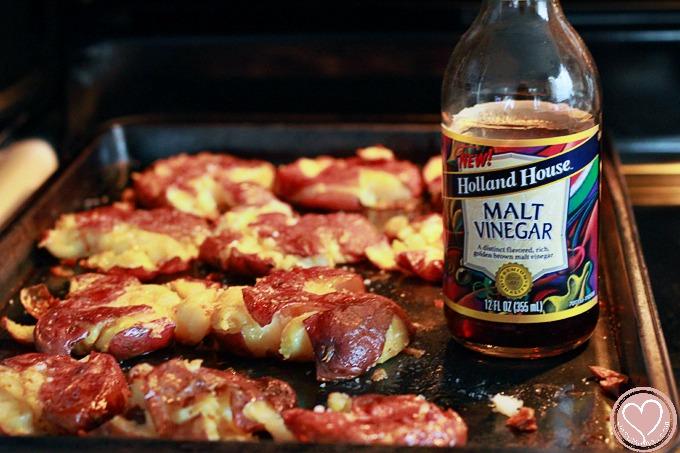 Malt Vinegar Roasted Potatoes Recipe De Su Mama