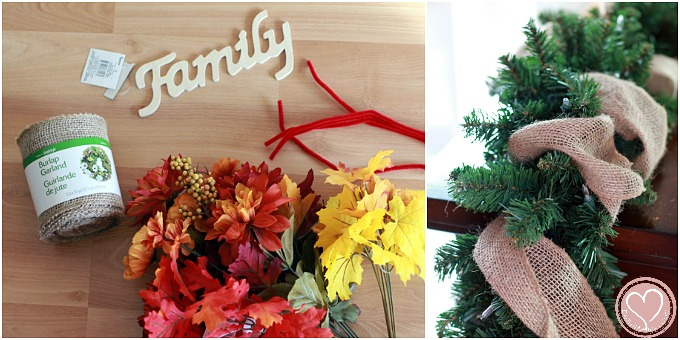 Thanksgiving Garland for Inspired Home Decor