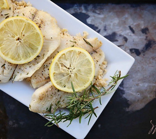 Lemon Rosemary Tilapia Recipe
