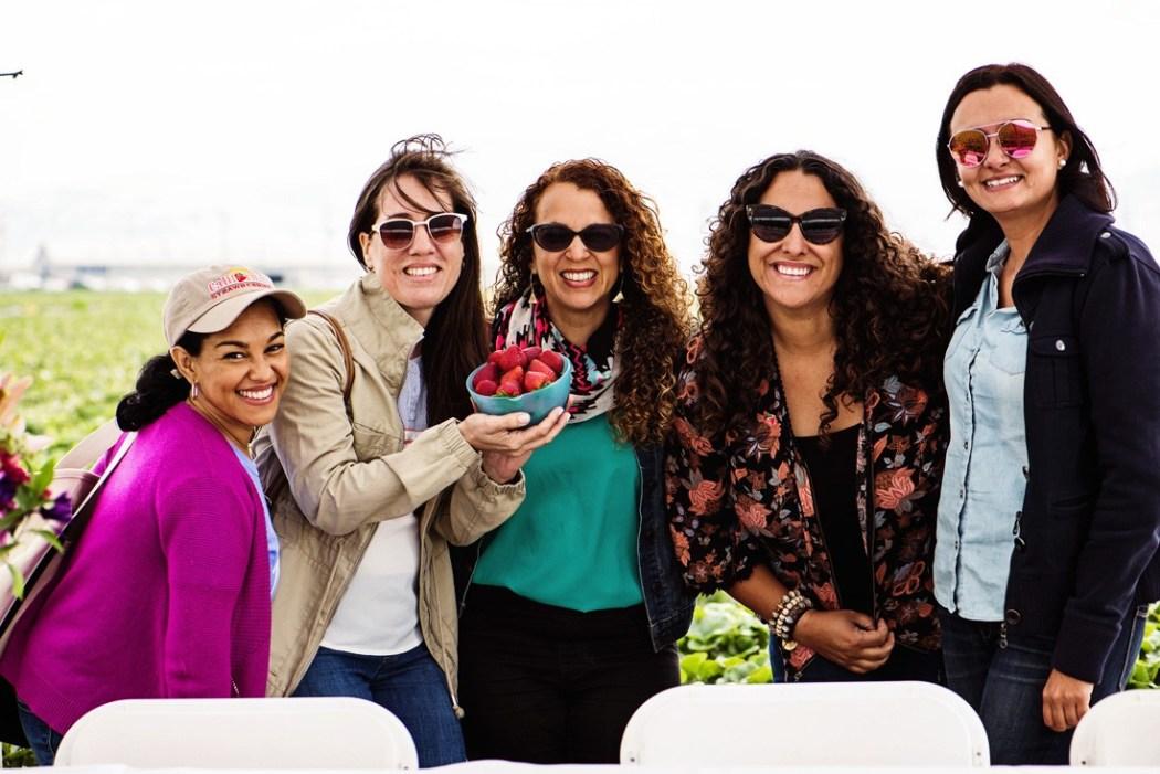 latina bloggers california strawberry board