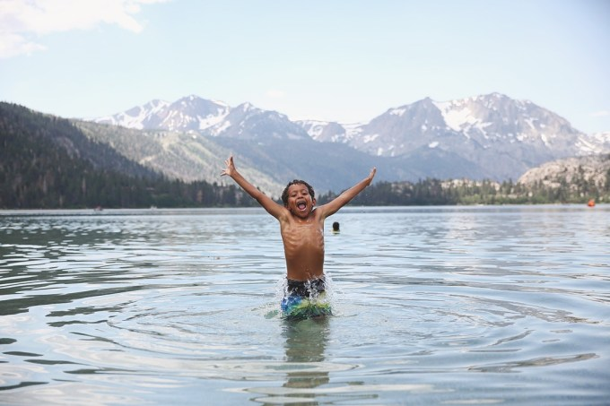 summer in mammoth with kids