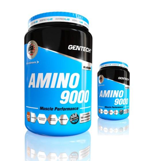 Gentech Aminoacdios Amino 9000