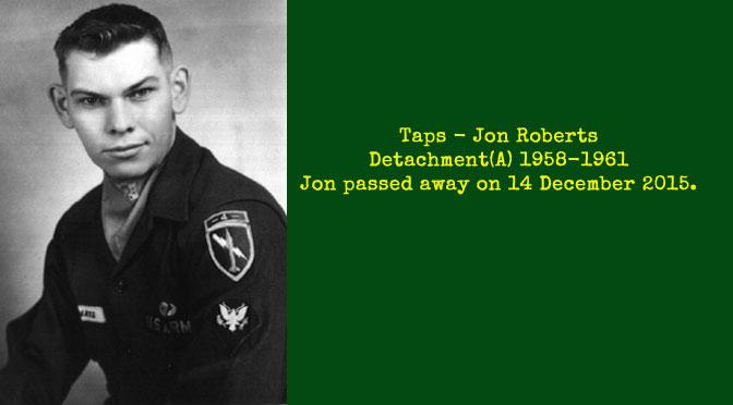TAPS – Jon Roberts