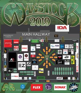 Waxstock 2019 floorplan