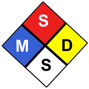 What is MSDS, SDS, WHMIS, PSDS