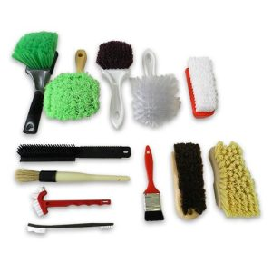 Different types of brushes