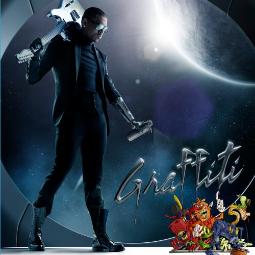 Chris Brown Graffiti Album Art Cover 2009