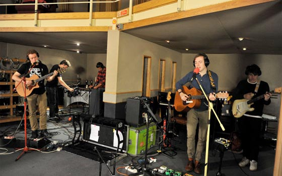 Bombay Bicycle Club Live Lounge 2011